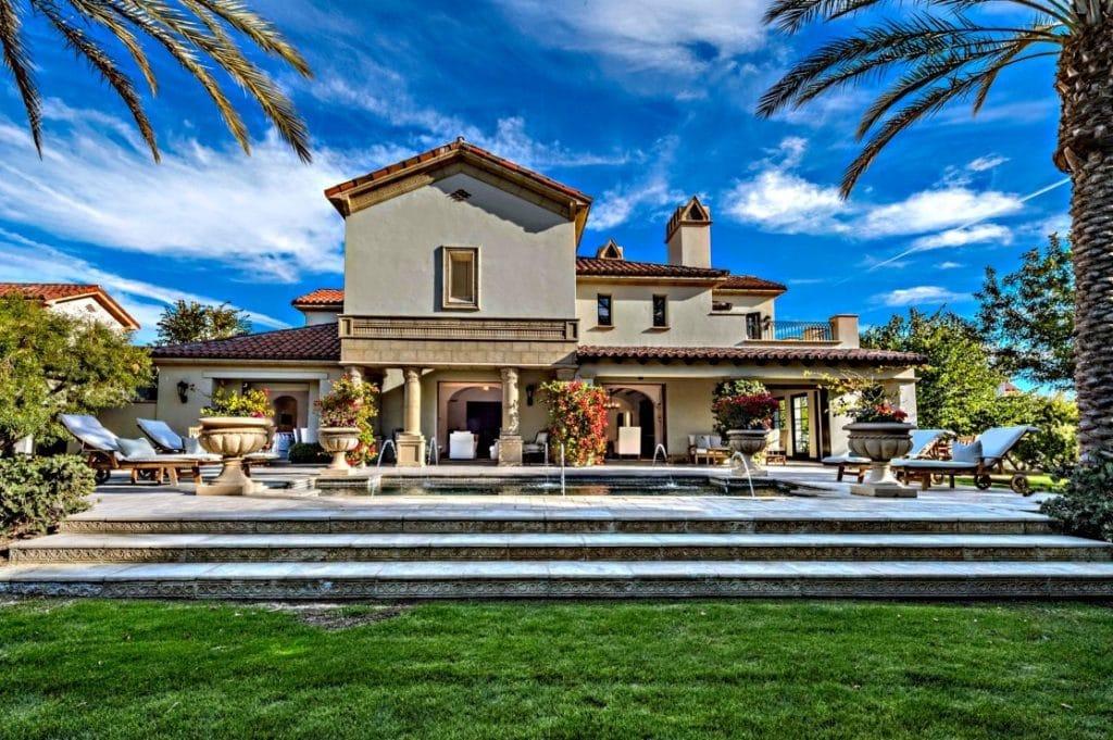 Slyvester Stallone's mansion in La Quinta, California