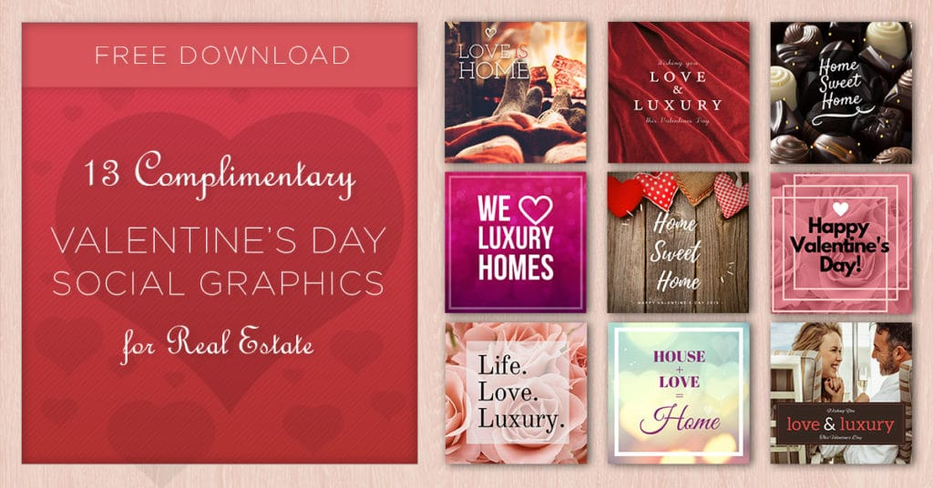 Valentines Day Social Graphics