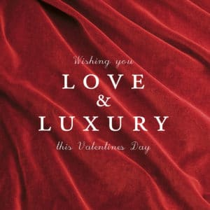 Valentines Day Social Status: Love & Luxury