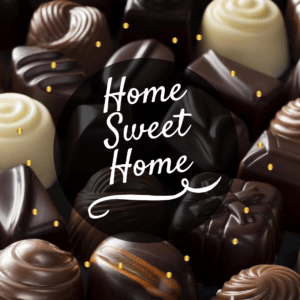 Valentines Day Social Graphics: Home Sweet Home