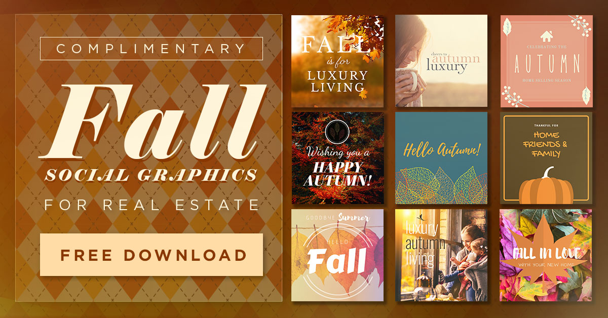 Fall Seasonal Social Graphics
