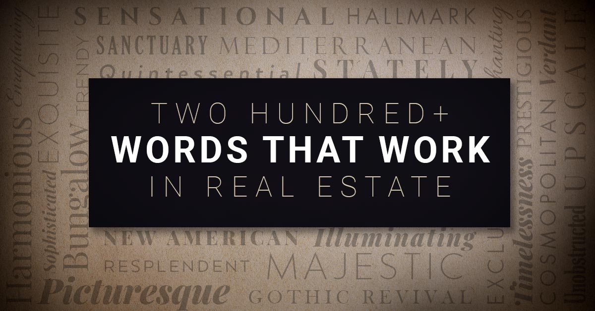 200+ Real Estate Words