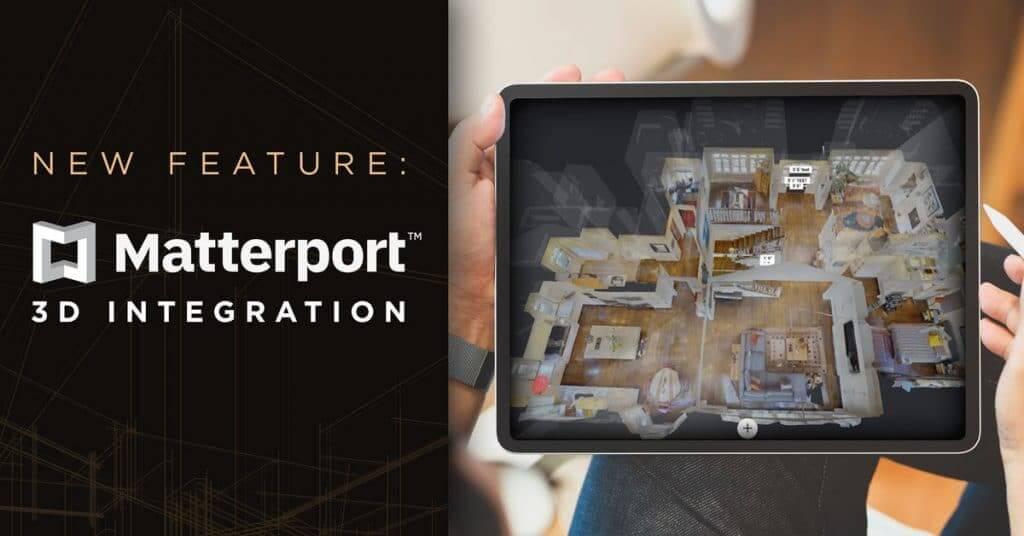 New Listing Feature: Matterport 3D Integration