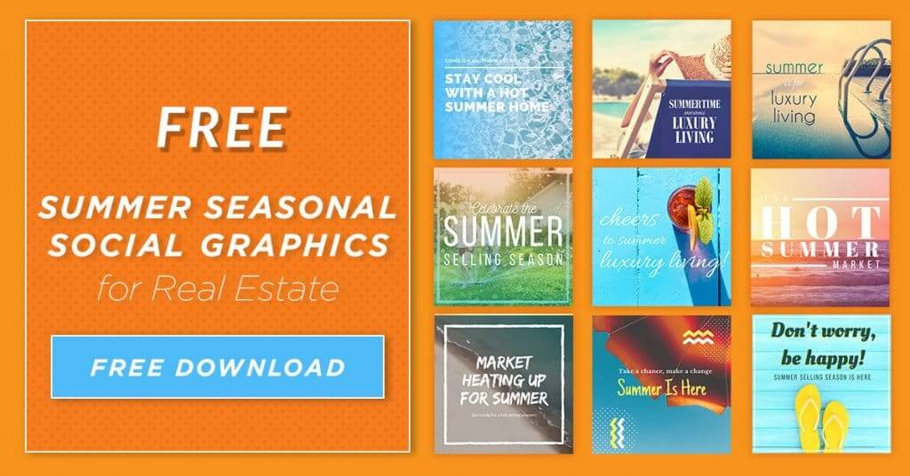 Summer Seasonal Social Graphics